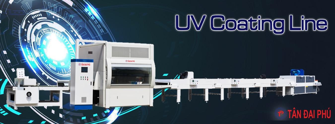 Dây chuyền sơn UV